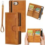 Split Leather Cover Case With Multiple Card Slots for iPhone 8 / 7 / SE (2nd Generation) – Brown