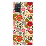 Pattern Printing TPU Phone Case for Samsung Galaxy A51 – Pretty Flower