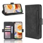 Stand PU Leather Cover with Multiple Card Slots for LG K61 – Black