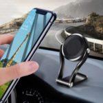 360° Rotating Z-Shped Gravity Car Mount Holder Phone Stand Holder