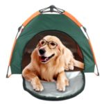 Outdoor Portable Semi-Automatic Pet Tent Collapsible Dog House
