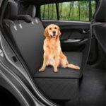Waterproof Hammock Car Back Seat Cover Mat – Black