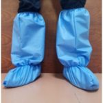 20Pcs Medical Waterproof Boot Covers Disposable Shoe Cover Thick Overshoes