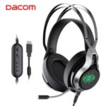 DACOM GH05 Laptop PC Wired Over-ear Gaming Headphone 7.1 Surround Sound with USB Interface