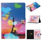 Pattern Printing Card Slots Flip Leather Tablet Cover for iPad Air 10.5 inch (2019)/iPad 10.2 (2019) – Eiffel Tower