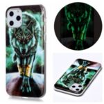 Noctilucent IMD TPU Phone Shell for iPhone 11 Pro 5.8 inch – Fierce Wolf