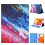 Pattern Printing Card Slots Flip Leather Tablet Case for iPad Pro 11-inch (2020)/(2018) – Nebula