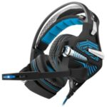 BEEXCELLENT GM-9 Over-ear Gaming Cord Headsets with Mic – Blue