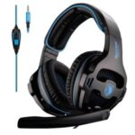 SADES SA810 3.5mm Wired Gaming Headset Stereo Gaming Headphone for Xbox One / PS4 / PC / TV