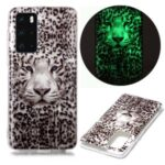 IMD Patterned TPU Case Luminous Phone Cover for Huawei P40 – Leopard