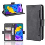 Special Leather Stand Case with Card Slots for Play 4T Pro – Black