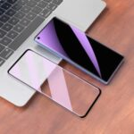 Silk Printing Full Coverage Tempered Glass Screen Protector for OnePlus 8 Pro
