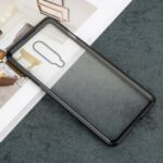 For OnePlus 8 All Covering Magnetic Metal Frame + Tempered Glass Phone Case – Black