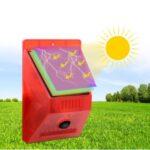 Solar Infrared Motion Sensor Alarm Light Siren Strobe Detector (N911C)
