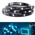 BASEUS RGB Colorful Light Strip with 1m Extension Pack – Black