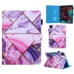 Pattern Printing Leather Card Holder Tablet Shell for iPad Pro 11-inch (2020)/(2018) – Geometric Pattern
