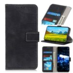 Crocodile Skin Leather Wallet Case for iPhone 12 Pro 6.1 inch/12 Max 6.1 inch – Black