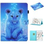 Pattern Printing Card Slots Leather Cover for Samsung Galaxy Tab A 8.0 Wi-Fi (2019) SM-T290/T295 – Little Tiger