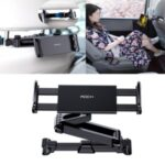 ROCK Adjustable Car Seat Headrest Mount and Holder for 4.5-inch to 11-inch Smartphone and Tablet (Simple Style)
