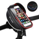 WEST BIKING Cycling Bag Waterproof Touch Screen Bicycle Front Bag Handlebar Phone Bag