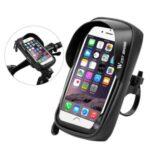 WEST BIKING Bicycle Waterproof Touch Screen Mobile Phone Bag Handlebar Cycling Bag