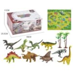 Children Kids Dinosaur Toys Dinosaur Figures Activity Play Mat – Small/Hollow Dinosaurs