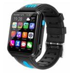 4G Kids Smart Watch Waterproof Dual Camera Wifi HD Smartwatch Tracker Video Call – Black/Blue