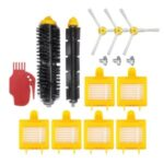 Brush Accessories Kit Set Compatible with I-robot 700 Vacuum Cleaner Robotic Sweeper Replacement Attachment Gadget Accessories for Housework Cleaning