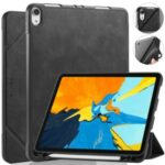 DG.MING See Series Auto Wake & Sleep Leather Protective Case for Apple iPad Pro 11-inch (2018) – Black
