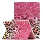 Pattern Printing Smart Leather Stand Case for iPad 9.7-inch (2018) / 9.7-inch (2017) / Air 2 / Air (2013) – Leopard