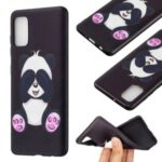 Pattern Printing Soft TPU Phone Back Case for Samsung Galaxy A41 (Global Version) – Cute Panda