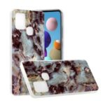 Marble Pattern Printing IMD TPU Phone Case for Samsung Galaxy A21s – Style A
