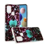 Marble Pattern IMD TPU Case for Samsung Galaxy A21s – Style A