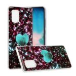 Marble Pattern IMD TPU Case for Samsung Galaxy A71 5G SM-A716 – Style A