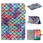 Pattern Printing Multi-angle Stand Leather Card Slot Tablet Cover for Samsung Galaxy Tab A 8.0 Wi-Fi (2019) SM-T290 – Colorful Ball