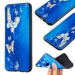 Pattern Printing Soft TPU Protective Back Case for Huawei P40 Lite E/Y7p/Honor 9C – Beautiful Butterflies
