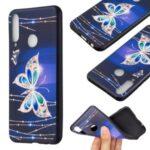 Pattern Printing Soft TPU Back Shell for Huawei Y6p – Metal Butterflies