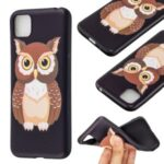 Pattern Printing Soft TPU Phone Cover for Huawei Y5p/Honor 9S – Owl