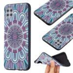Pattern Printing Embossed TPU Phone Cover for Huawei P40 Lite 4G/Nova 6 SE/Nova 7i – Malanda Flower