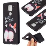 Printing Embossed TPU Phone Case for Xiaomi Redmi Note 9/Redmi 10X 4G – Kiss My Ass