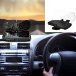 BAIQEN 10W Car Wireless Fast Charger HUD Mobile Phone Navigation Stand Mount Holder Bracket