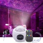 Bluetooth Starlight Projection Lamp Night Light Star Night Lamp