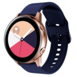 Silicone Smart Watch Band Replacement for Huawei Watch GTs/GT2 42MM – Navy Blue