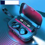 A13 TWS Bluetooth In-ear Waterproof Headphones Three-digit Display with Charging Box