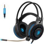 SADES SA936 Over-ear Gaming Headphone Stereo 3.5mm Jack Corded Headphone Headset with Mic