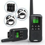 G200 2Pcs Wireless Professional Mini Intelligent Chip Walkie Talkie
