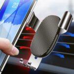 Car Gravity Bracket Car Air Outlet Navigation Mobile Phone Holder Stand