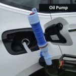 Outdoor Electric Oil Pump Fuel Water Pump Transfer Suction Pumps Liquid Transfer – Blue