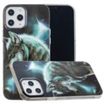 Pattern Printing IMD TPU Case for iPhone 12 Pro 6.1 inch – Wolf