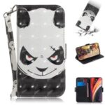 Light Spot Decor Pattern Printing Leather Shell for iPhone 12 Pro Max 6.7 inch – Angry Panda